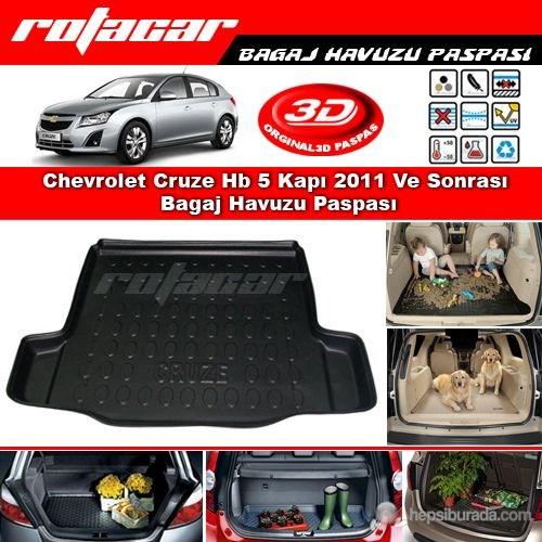 Chevrolet Cruze Hb 5 Kapı 2011 Ve Sonrası Bagaj Havuzu Paspası BG016