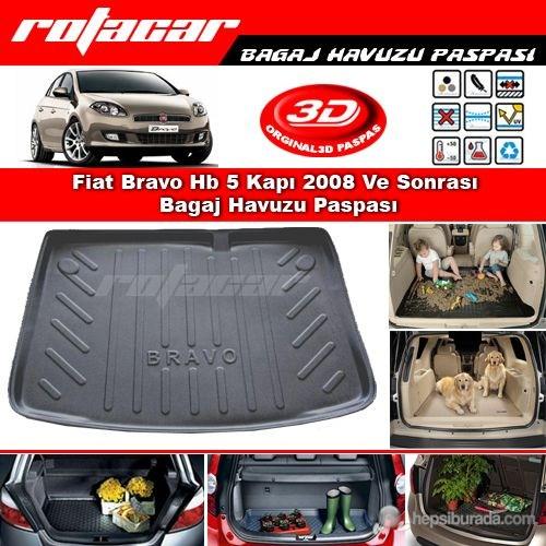 Fiat Bravo Hb 5 Kapı 2008 Ve Sonrası Bagaj Havuzu Paspası BG039