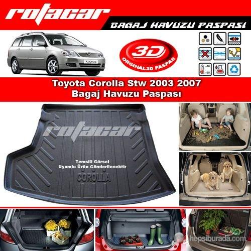 Toyota Corolla Stw 2003 2007 Bagaj Havuzu Paspası BG0186