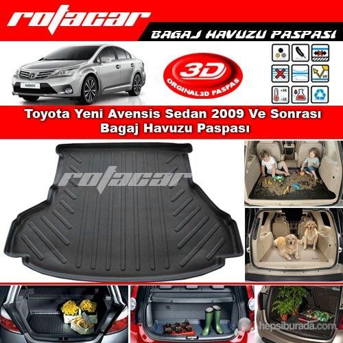 Toyota Yeni Avensis Sedan 2009 Ve Sonrası Bagaj Havuzu Paspası BG0178