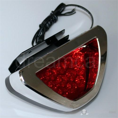 Dreamcar Krom F1 Style Kırmızı Flash Patlayan Stop Lamba 12 Led 3563103
