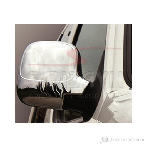 S-Dizayn Citroen Berlingo Ayna Kapağı 2 Prç. Abs Krom (09.1996-09.2008)