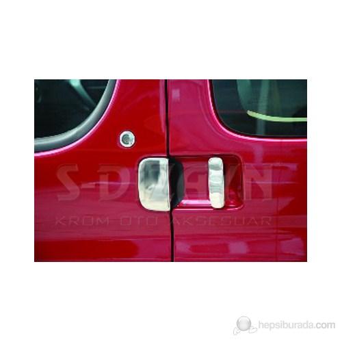 S-Dizayn Citroen Berlingo Kapı Kolu 4 Kapı P.Çelik (09.1996-09.2008)