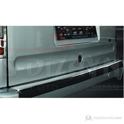 S-Dizayn Ford Connect Arka Tampon Eşiği P.Çelik (2002-2009)