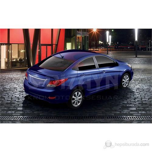 S-Dizayn Hyundai Accent Blue (Solaris)Bagaj Çıtası P.Çelik (2011>)
