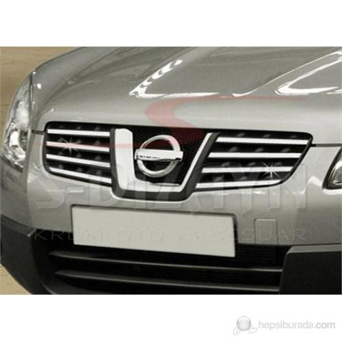 S-Dizayn Nissan Qashqai Ön Panjur 8 Prç. P.Çelik (2007-2010)