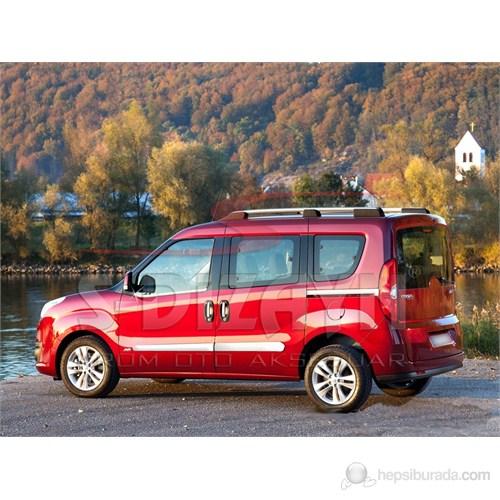 S-Dizayn Opel Combo Yan Kapı Çıtası 4 Prç. P.Çelik (2012>)