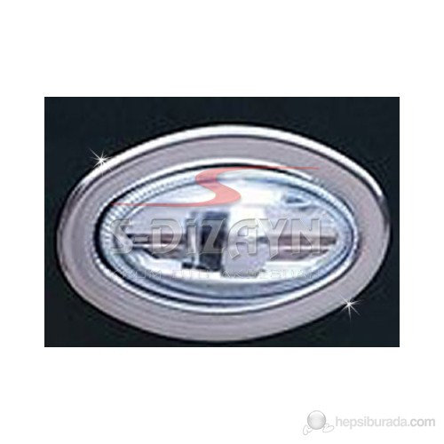 S-Dizayn Peugeot 206 Sinyal Çerçevesi 2 Prç. P.Çelik (1998>)