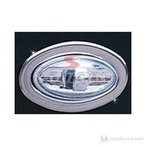 S-Dizayn Peugeot 307 Sinyal Çerçevesi 2 Prç. P.Çelik (2001>)