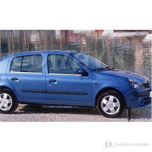 S-Dizayn Renault Clio II- Hb Cam Çıtası 4 Prç. P.Çelik (1999-2006)