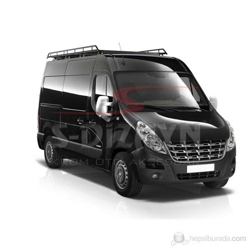 S-Dizayn Renault Master Ayna Kapağı 2 Prç. Abs. Krom (2011>)