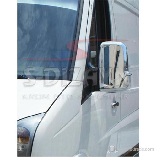 S-Dizayn Vw Crafter Ayna Kapağı 2 Prç. Abs Krom (2006>)