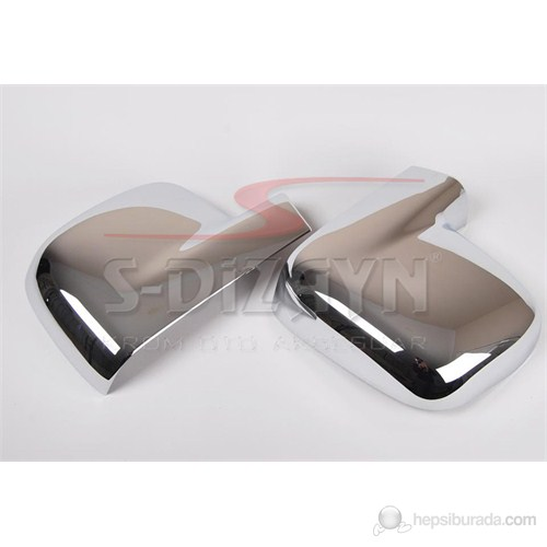S-Dizayn Vw T5 Caravelle Ayna Kapağı 2 Prç. Abs Krom (2004-2010)