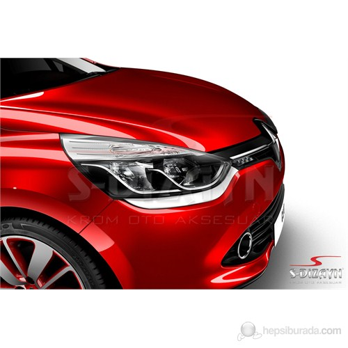 S-Dizayn Renault Clio-4 Sport Tourer Far Alt Çıta 2 Prç P.çelik (2012>)