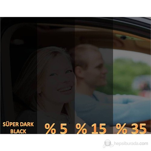 AutoFolyo Çizilmez Cam Filmi 50 Cm X 6 Metre %35 Açık Ton