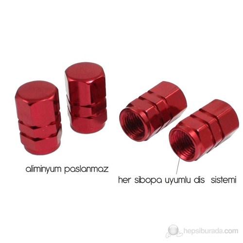 ModaCar SİBOP KAPAĞI Hexagon Kırmızı 51a002