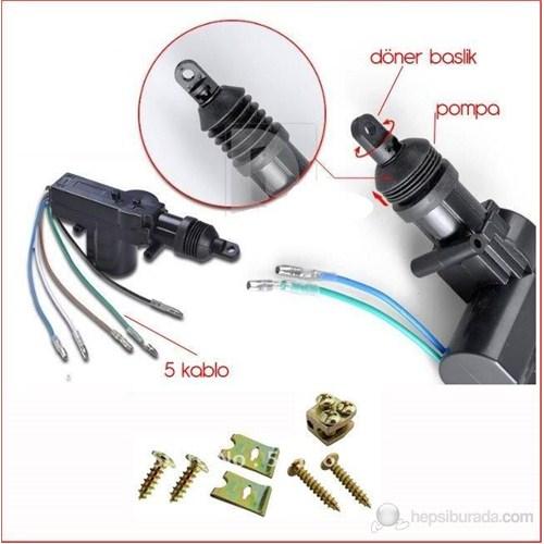 ModaCar Merkezi Kilit Yedek Pompa 5 Kablolu 340085
