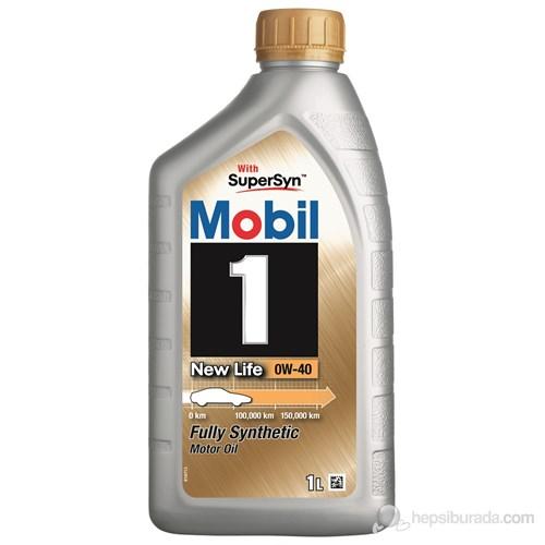 Mobil 1 New Life 0W-40 1lt Benzinli Dizel LPG Motor Yağı