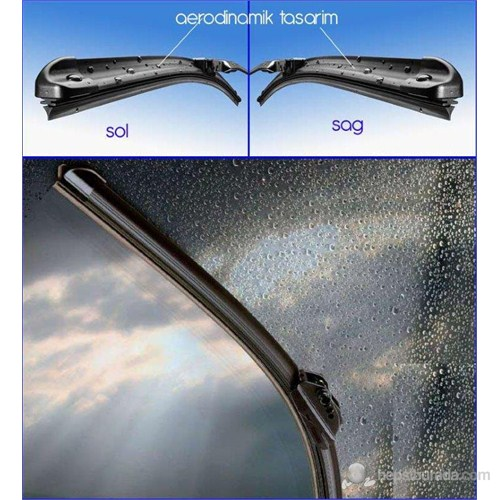 Silbak OPEL Mokka 09/2012 >> Muz Silecek SAĞ/SOL Set 47s681