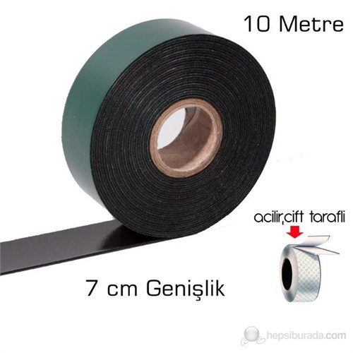 ModaCar Siyah Köpük Çift Taraflı Bant 7 cm x 10 Mt cm2=1 kg 551418