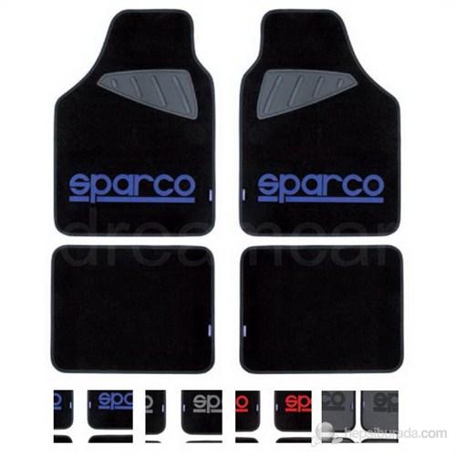 Sparco Corsa Universal Paspas 4 Parça Siyah+Mavi SPC1901A