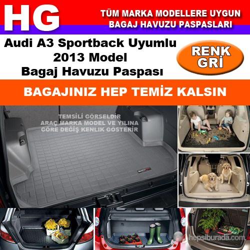 Audi A3 2013 Bagaj Havuzu Paspası Gri 38606