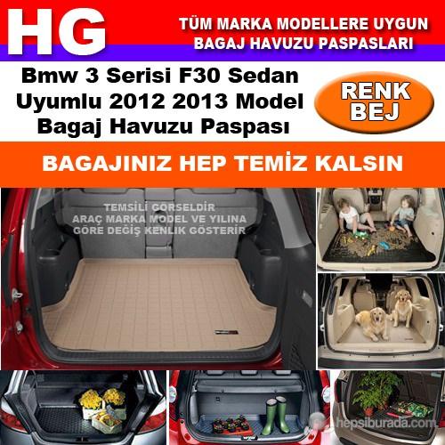 Bmw 3 F30 2012 2013 Bej Bagaj Havuzu Paspası 38624