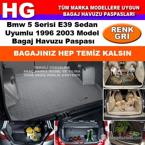 Bmw 5 E39 1996 2003 Gri Bagaj Havuzu Paspası 38626