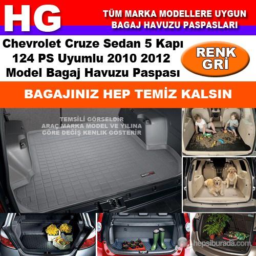 Chevrolet Cruze Sedan 124Ps 2010 2012 Gri Bagaj Havuzu Paspası 38658