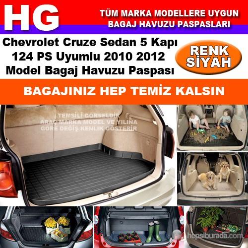 Chevrolet Cruze Sedan 124Ps 2010 2012 Siyah Bagaj Havuzu Paspası 38660