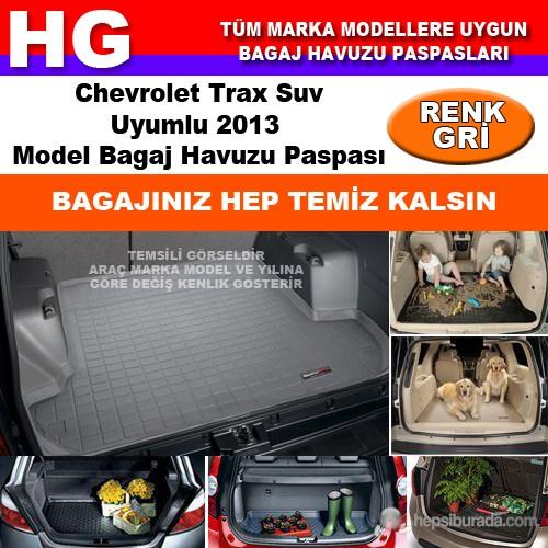Chevrolet Trax 2013 Gri Bagaj Havuzu Paspası 38674