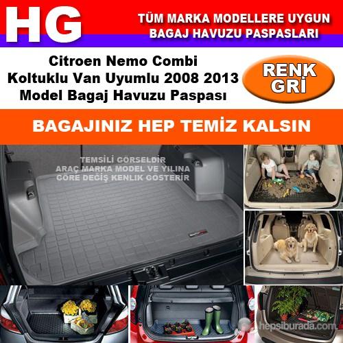Nemo Combi 2008 2013 Gri Bagaj Havuzu Paspası 38688