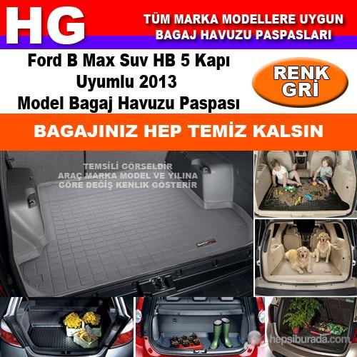 Focus B Max 2013 Gri Bagaj Havuzu Paspası 38799
