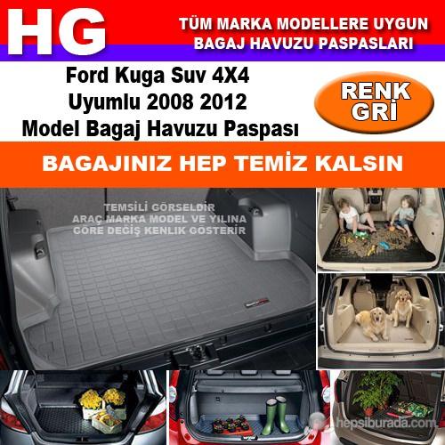 Focus Kuga 2008 2012 Gri Bagaj Havuzu Paspası 38804