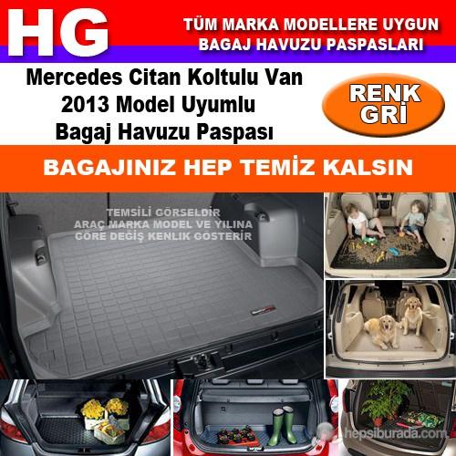 Mercedes Citan 2013 Gri Bagaj Havuzu Paspası 38916