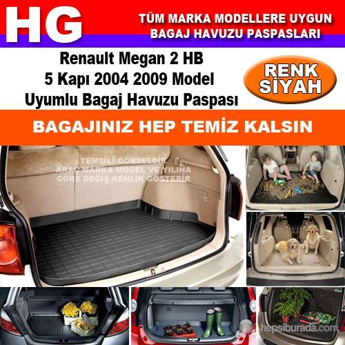 Renault Megan 2 Hb 2004 2009 Siyah Bagaj Havuzu Paspası 39063