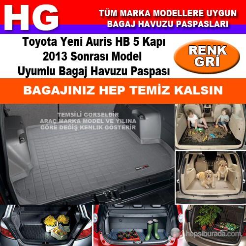 Toyota Yeni Auris 2013 Sonrası Gri Bagaj Havuzu Paspası 39122