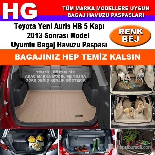 Toyota Yeni Auris 2013 Sonrası Bej Bagaj Havuzu Paspası 39123