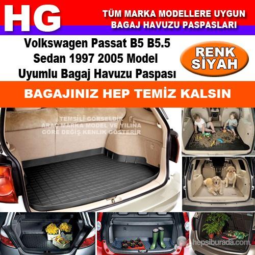 Volkswagen Passat B5 1997 2005 Siyah Bagaj Havuzu Paspası 39136