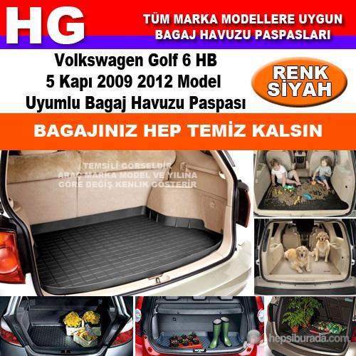 Golf 6 Hb 2009 2012 Siyah Bagaj Havuzu Paspası 39138