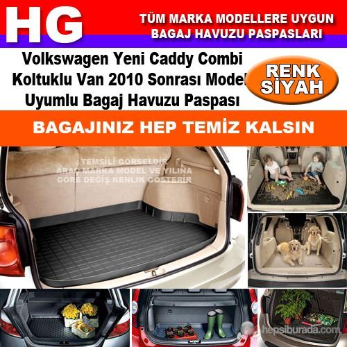 Yeni Caddy Combi 2011 Sonrası Siyah Bagaj Havuzu Paspası 39142