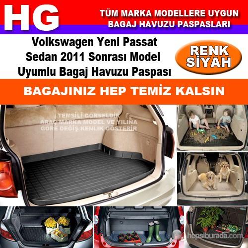 Yeni Passat Sedan 2011 Sonrası Siyah Bagaj Havuzu Paspası 39143