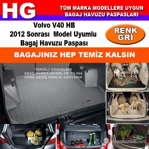 Volvo V40 Hb 2012 Sonrası Gri Bagaj Havuzu Paspası 39165