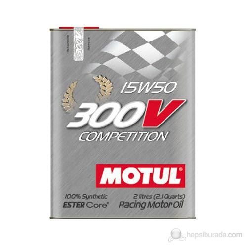 MOTUL 300V COMPETITION 15W50 Tam Sentetik Motor Yarış Yağı 3369a