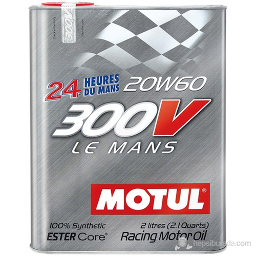 MOTUL 300V LE Mans 20W60 Tam Sentetik Motor Yarış Yağı 3371a