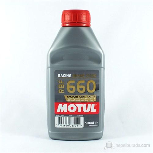 Motul RBF 660 Factory Line Tam Sentetik Yarış Tipi Fren Hidroliği 3405a