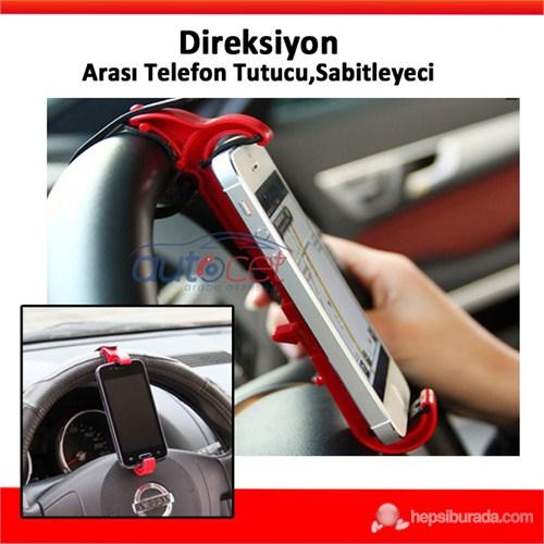 AutoCet Direksiyon Arası Telefon Tutucu Sabiyetleyici 0104a