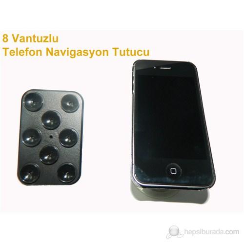 Z tech 8 Vantuzlu Telefon Tutacağı
