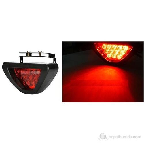 ModaCar Ledli Flaşlı Stop Lambası 12 led Kırmızı F1 85a35206