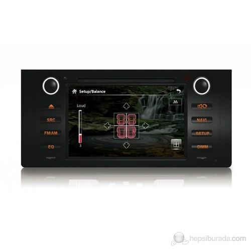 """Navimex BMW E39 NAV9908HD 7"""" Dokunmatik HD Ekranlı TV'li-Navigasyonlu Multimedya sistem"""